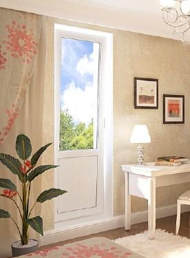 Дизайн балконной двери без окна фото